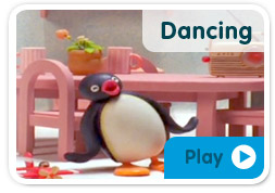 Pingu Loves Dancing!