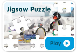 Pingu Sledge & Snowball game