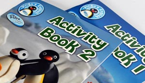 Pingu's English Study Books