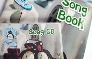 Pingu's English Song Book and C